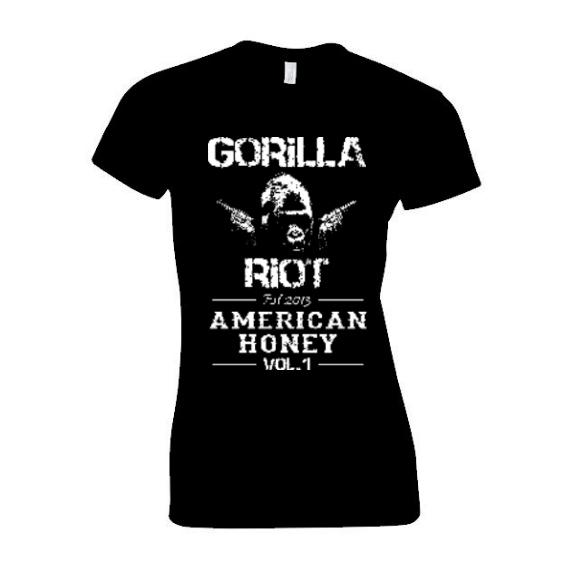 Gorilla Riot - American Honey - Womens Blk