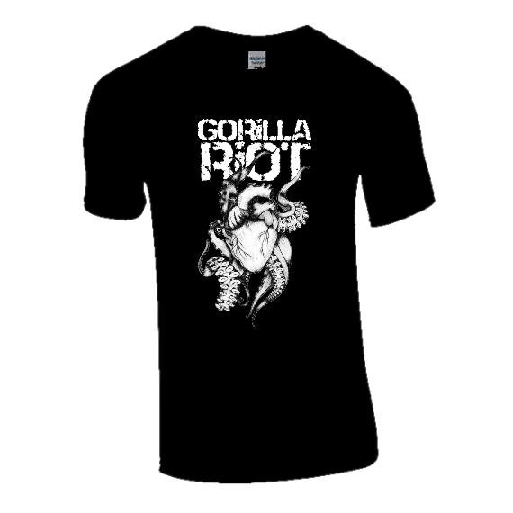 Gorilla Riot - 'Six Shots Down' Tee - Mens - Black