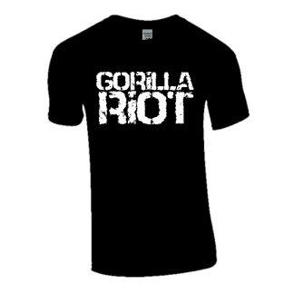 Gorilla Riot Logo Tee Black