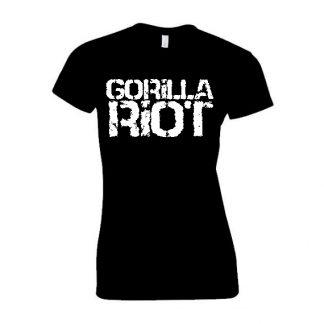 Gorilla Riot - Logo Tee - Womens - Black